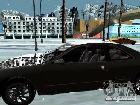 Lincoln Continental Mark VIII 1996 für GTA San Andreas Innen