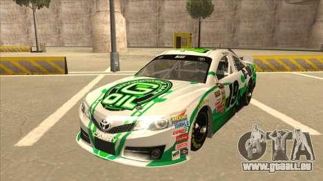 Toyota Camry NASCAR No. 19 G-Oil pour GTA San Andreas