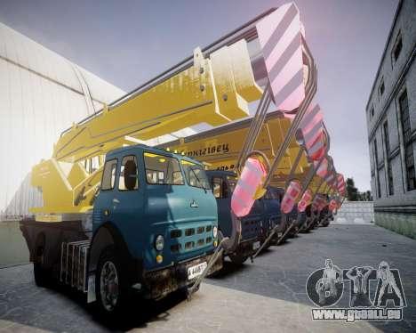 MAZ KS3577-4-6 Ul′ânovec pour GTA 4 Vue arrière