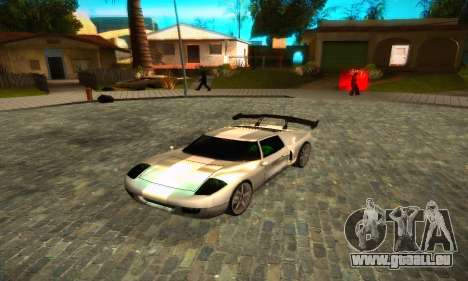Bullet GT32 Big Spoiler für GTA San Andreas