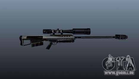 Barrett M95 Scharfschützengewehr für GTA 4 dritte Screenshot