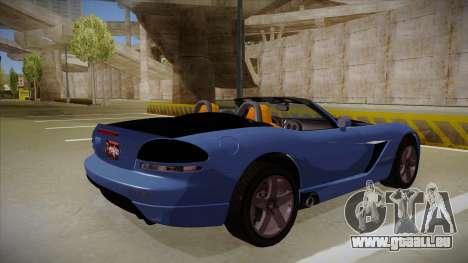 Dodge Viper v1 für GTA San Andreas rechten Ansicht