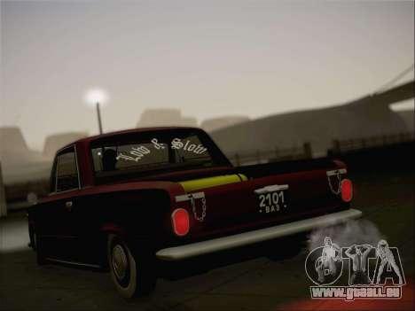 VAZ 2101 Resto pour GTA San Andreas salon