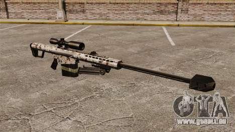 Le Barrett M82 sniper rifle v5 pour GTA 4