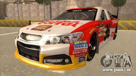 Chevrolet SS NASCAR No. 36 Golden Corral pour GTA San Andreas