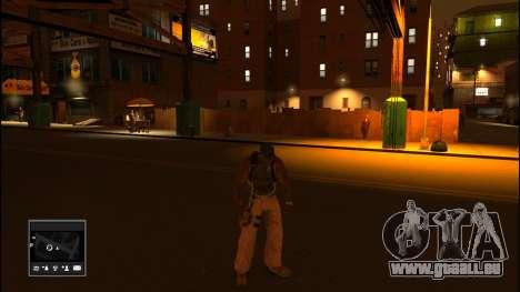 GTA V Radar für GTA 4 dritte Screenshot