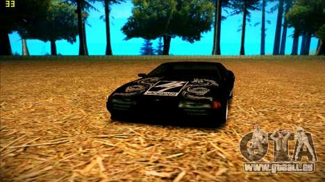 New paintjob for Elegy pour GTA San Andreas quatrième écran