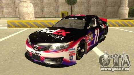 Toyota Camry NASCAR No. 11 FedEx Freight pour GTA San Andreas
