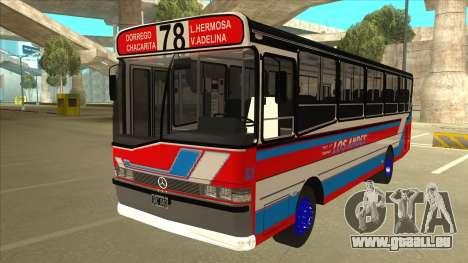 Mercedes-Benz OHL-1320 Linea 78 Los Andes für GTA San Andreas