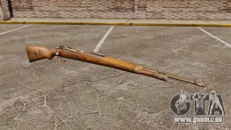 Mauser Karabiner 98 k, répétant le fusil pour GTA 4
