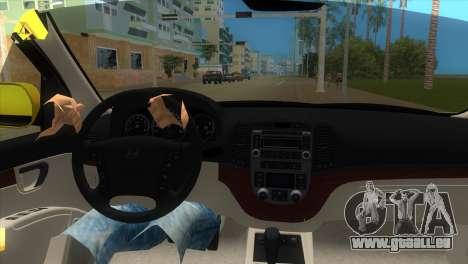 Hyundai Santa Fe 2006 pour une vue GTA Vice City de la droite