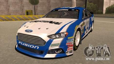 Ford Fusion NASCAR No. 99 Fastenal Aflac Subway pour GTA San Andreas