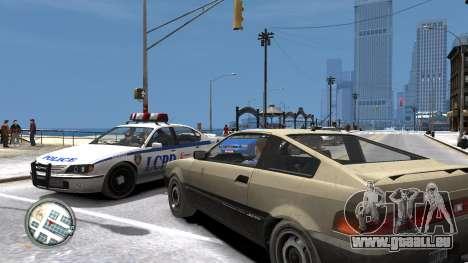 Map-Radar-HUD Pack pour GTA 4 cinquième écran