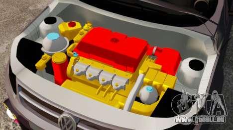 Volkswagen Gol Rally 2012 Socado Turbo für GTA 4 Innenansicht