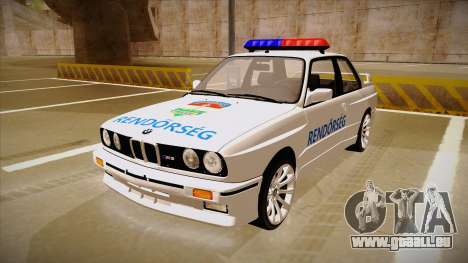 BMW M3 E30 Rendőrség pour GTA San Andreas