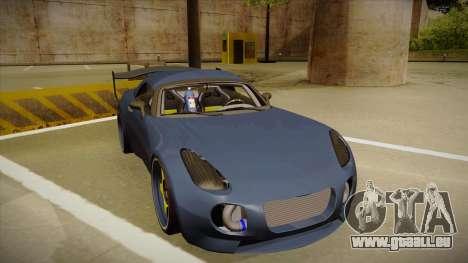 Pontiac Solstice Rhys Millen pour GTA San Andreas laissé vue