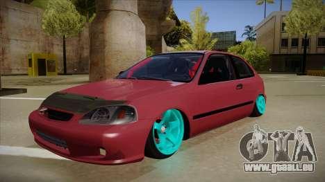 Honda Civic EK9 Drift Edition pour GTA San Andreas