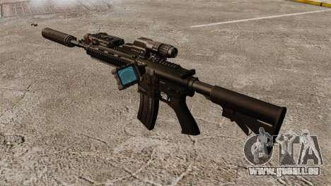 Automatische HK416 für GTA 4 dritte Screenshot