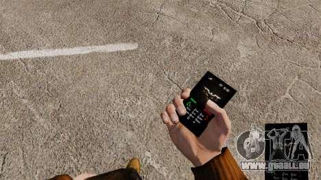 The Dark Knight thème pour votre téléphone pour GTA 4