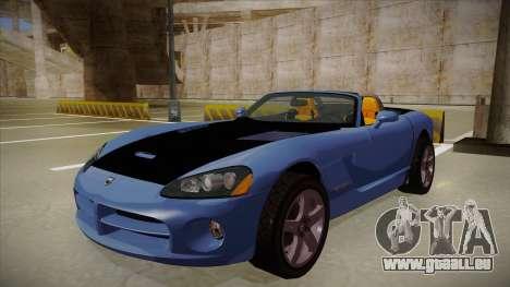 Dodge Viper v1 für GTA San Andreas