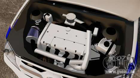 Toyota Hilux Croatian Police v2.0 [ELS] pour GTA 4 est une vue de l'intérieur