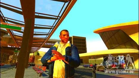 Jeans veste Trevor de GTA V pour GTA 4