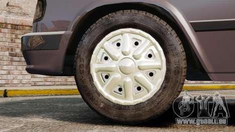 Volga gaz-3110 pour GTA 4 Vue arrière