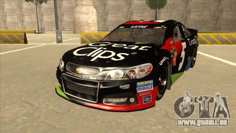 Chevrolet SS NASCAR No. 5 Great Clips pour GTA San Andreas