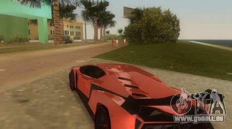 Lamborghini Veneno für GTA Vice City rechten Ansicht