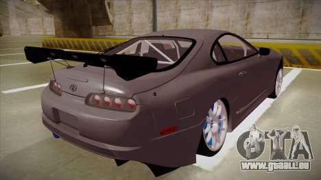 Toyota Supra RZ pour GTA San Andreas vue de droite