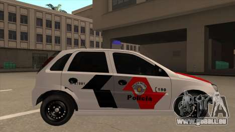 Chevrolet Corsa VHC PM-SP pour GTA San Andreas sur la vue arrière gauche