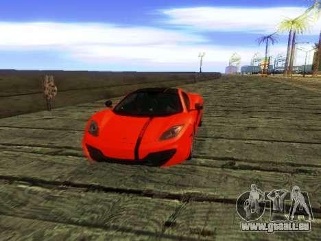 McLaren MP4-12C WheelsAndMore pour GTA San Andreas moteur
