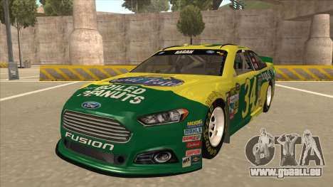 Ford Fusion NASCAR No. 34 Peanut Patch für GTA San Andreas