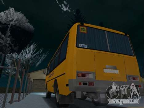 GROOVE School 32053-70 pour GTA San Andreas laissé vue