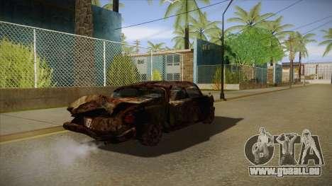 New Glenshit pour GTA San Andreas vue de droite
