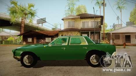 Fasthammer pour GTA San Andreas laissé vue