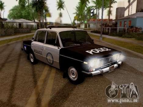 VAZ 2106 Los Santos Polizei für GTA San Andreas