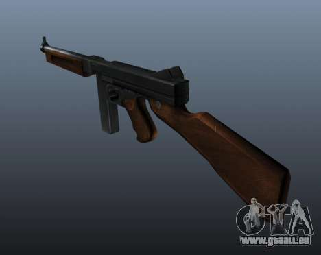 Thompson M1a1 Maschinenpistole v1 für GTA 4 Sekunden Bildschirm