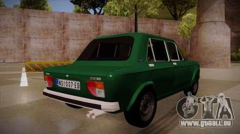Zastava 128 1995 pour GTA San Andreas vue arrière