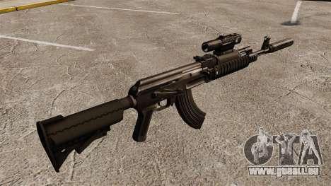 AK-47 (Taktische) für GTA 4 Sekunden Bildschirm
