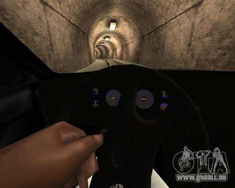 Tonique Premier V2 pour GTA San Andreas vue arrière