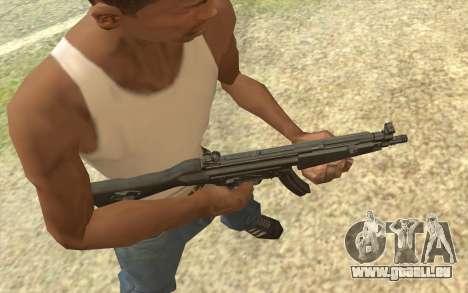 HK MP5 pour GTA San Andreas deuxième écran