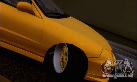 Honda Integra Type-R Hellaflush pour GTA San Andreas vue intérieure