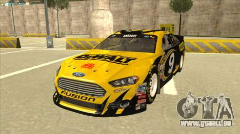 Ford Fusion NASCAR No. 9 Stanley DeWalt für GTA San Andreas