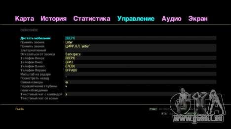 Regenbogen-text für GTA 4 Sekunden Bildschirm