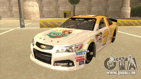 Chevrolet SS NASCAR No. 7 Florida Lottery für GTA San Andreas