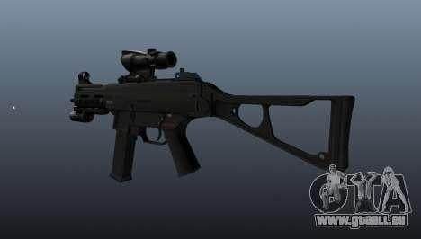 UMP45 mitraillette v1 pour GTA 4 secondes d'écran