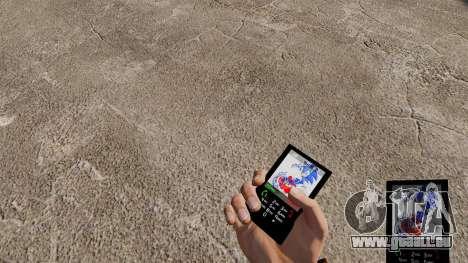 Sonic Thema für Ihr Handy für GTA 4