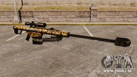 Le v10 de fusil de sniper Barrett M82 pour GTA 4