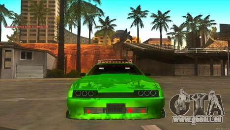 Elegy New Year for JDM pour GTA San Andreas vue de côté